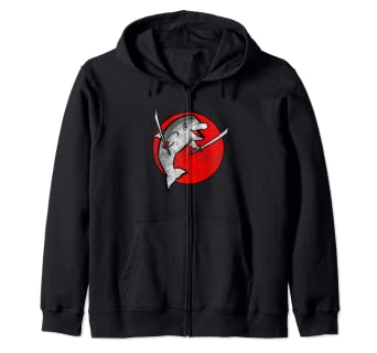Amazon.com: Sudadera con capucha y cremallera con diseño de ...