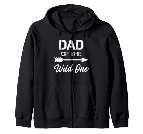 Dad Of The Wild One Father's Day Zip Hoodie