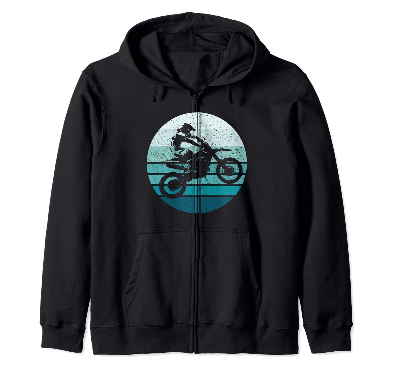 Dirt Bike Motocross Moto-cross Moto de Course Sweat /à Capuche Motocyclette