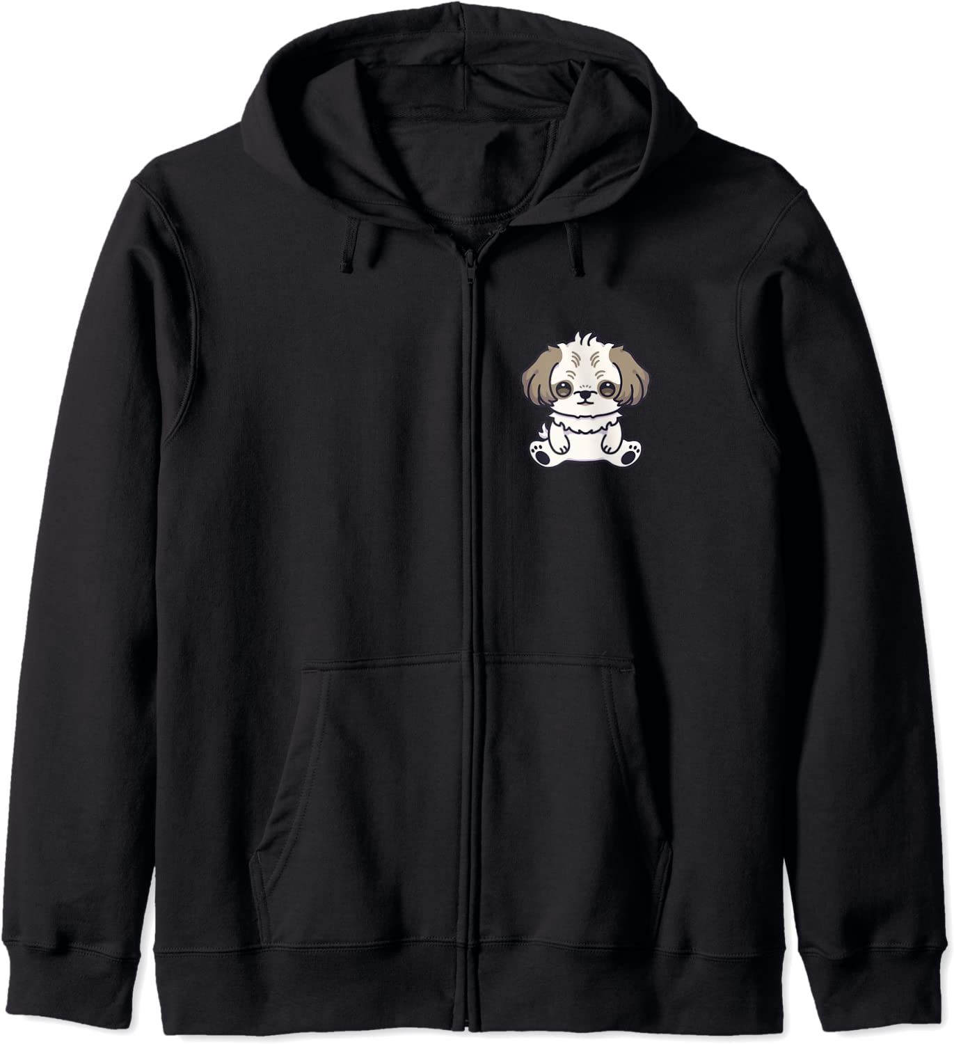 Shih Tzu 35% OFF Dog Cute Kawaii Lover Owner Anime Puppy Aesthetic H Zip Indianapolis Mall