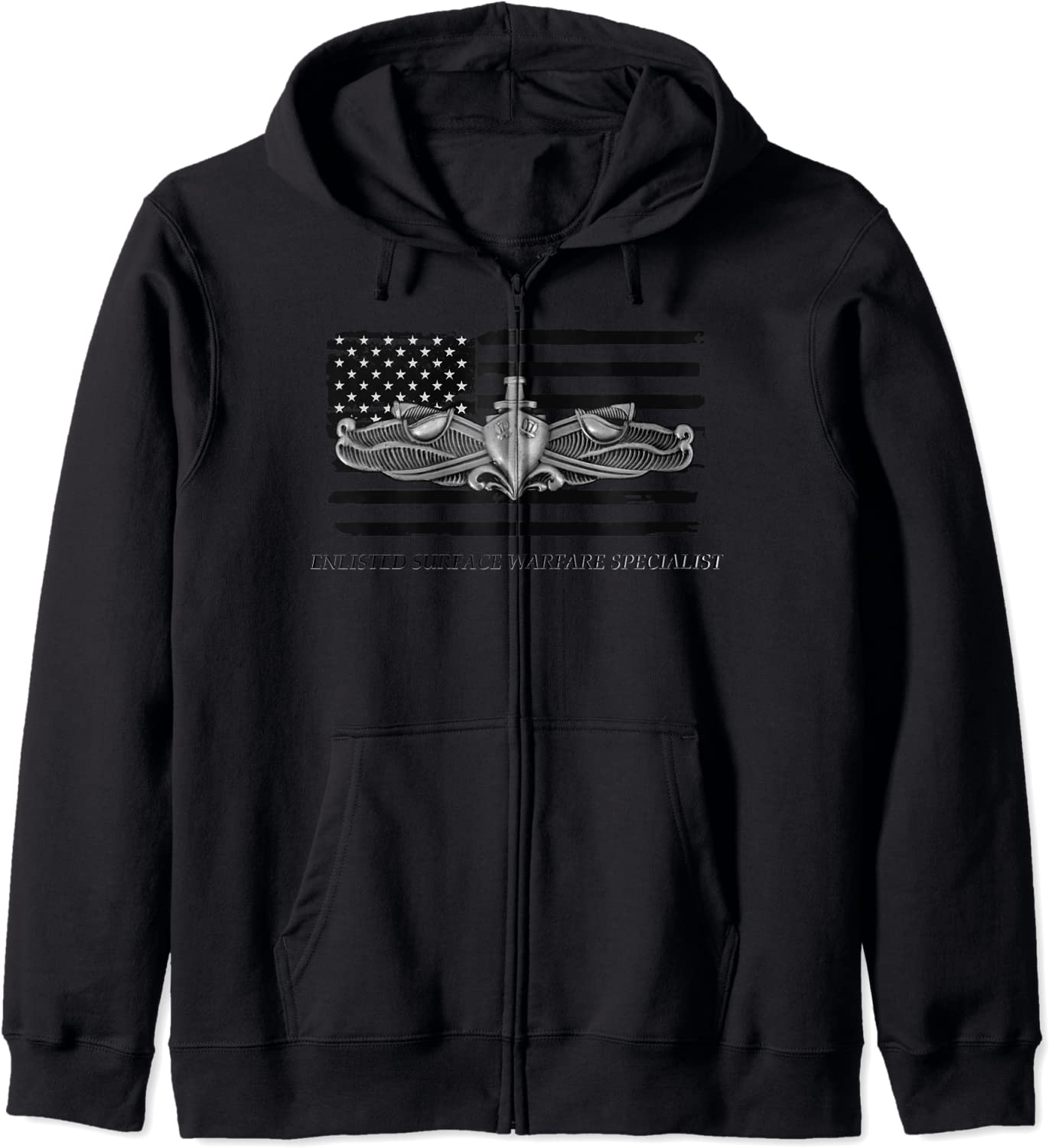 Navy Enlisted Max 80% OFF Surface Specialist ESWS Beauty products Hoodie Zip