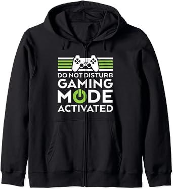 Funny Hoodie Awesome Gamer Looks Like Video Console Gaming Birthday Joke HOODY