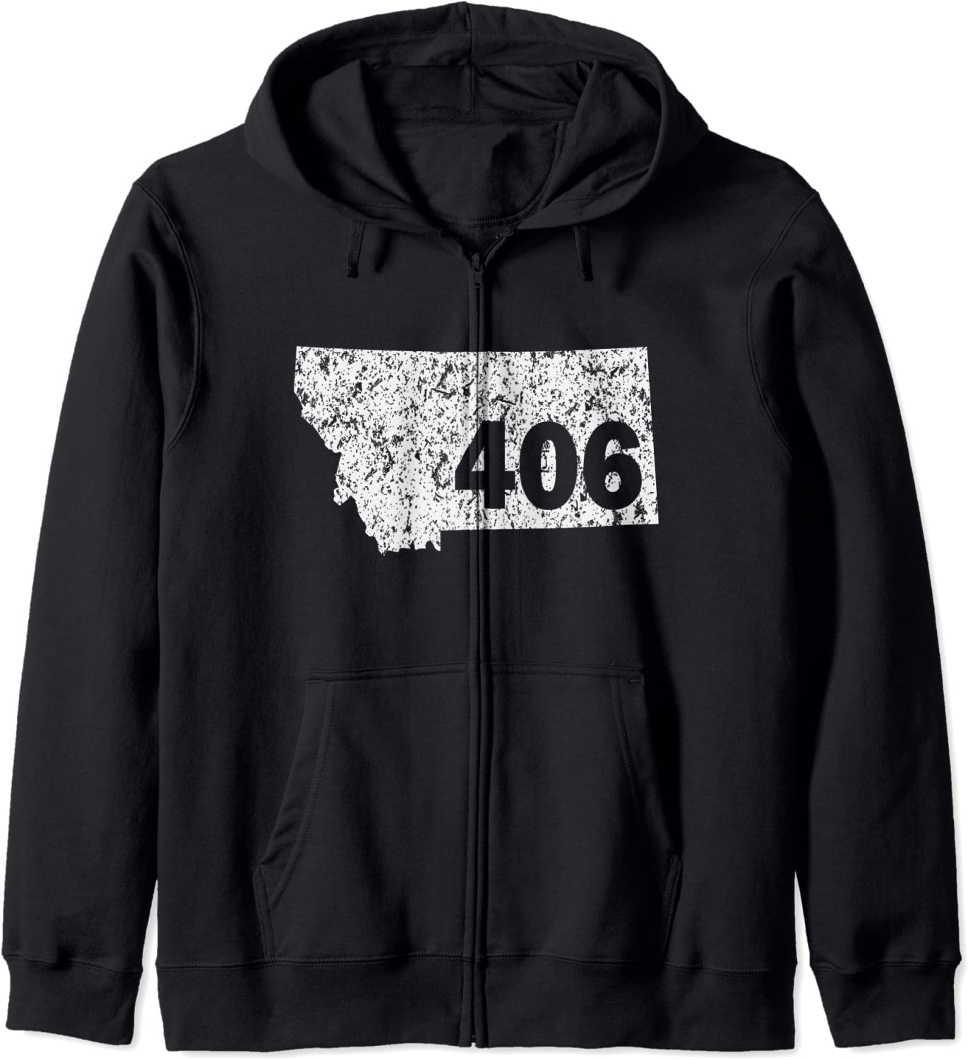 Special price for a limited time Montana 406 Area Code Zip Hoodie Genuine Free Shipping