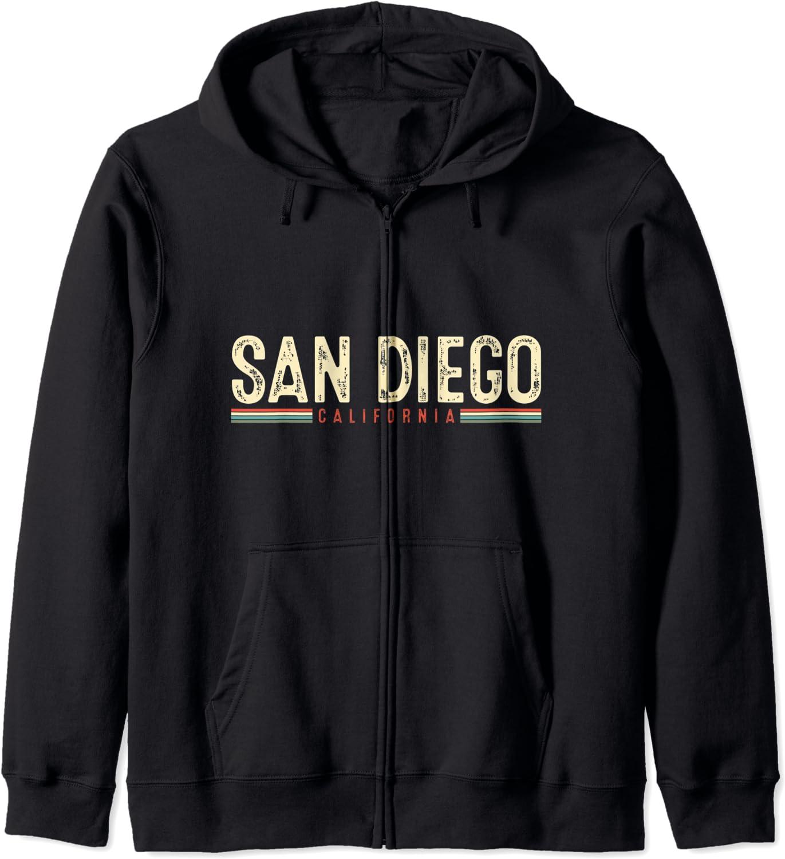 初回限定 San Diego California Hoodie Zip 人気の製品