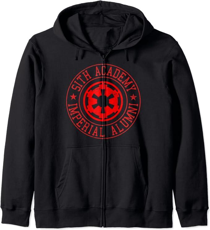Star Wars  Imperial Guard Varsity Zipper Hoodie Licensed