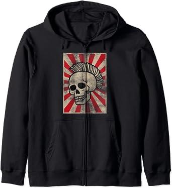 Punks Music Rock Punks Punkrocker Punk Zip Hoodie