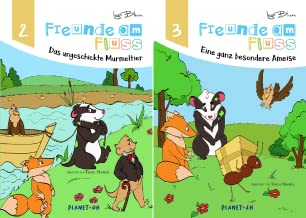 Freunde am Fluss Bilderbuch-Reihe (Reihe in 2 Bänden)
