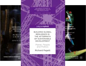 Palgrave Studies in Environmental Policy and Regulation (5 Book Series)