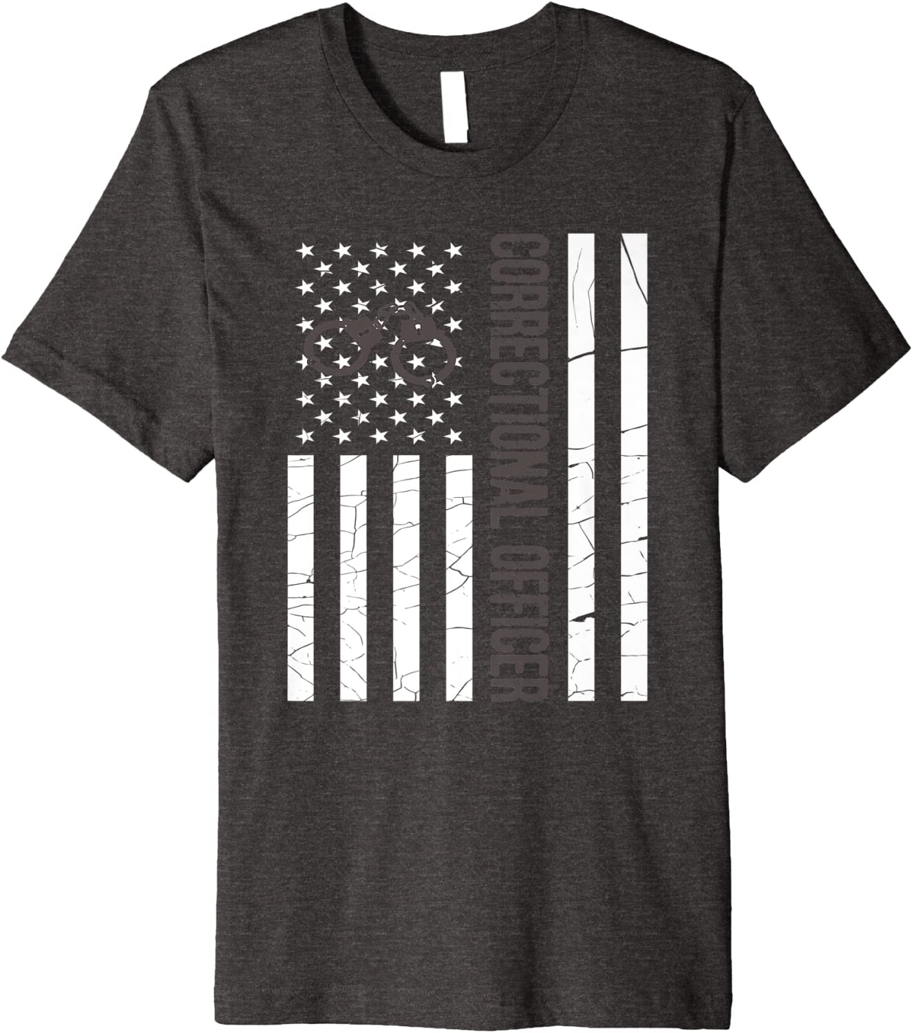 Thin Silver Line Correction American Flag Officer Soft Cozy Sweatpants Womens Jogger Pants