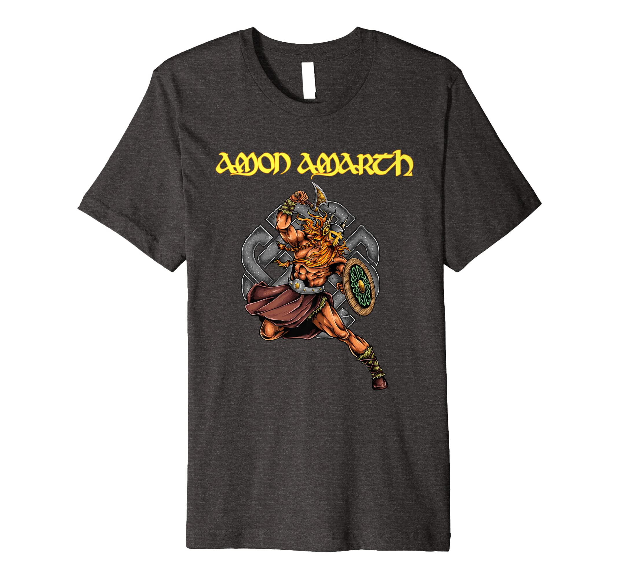 Amon Amarth Viking Warrior Premium T Shirt-azvn