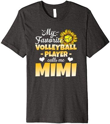 Gigi Volleyball Shirt Volleyball Gift My Favorite Player Calls Me Gigi Cute Volleyball Shirt