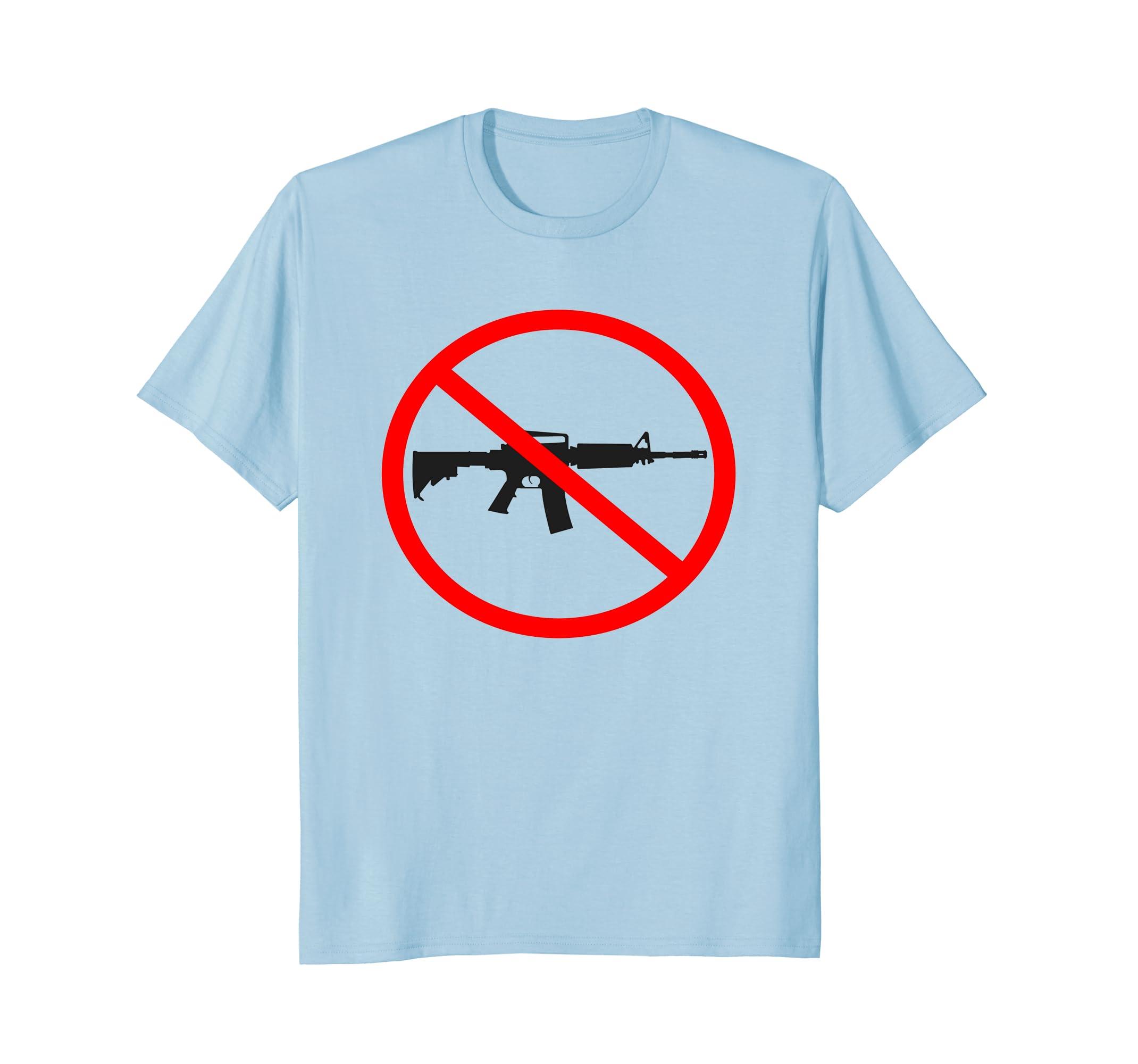 Anti Gun - Gun Control T-Shirt-alottee gift
