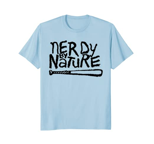 Nerdy By Nature Funny Throwback HipHop T Shirt