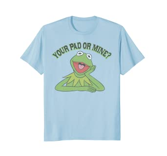 a68cfd9f Image Unavailable. Image not available for. Color: Disney Kermit the Frog  Muppets Your Pad T Shirt