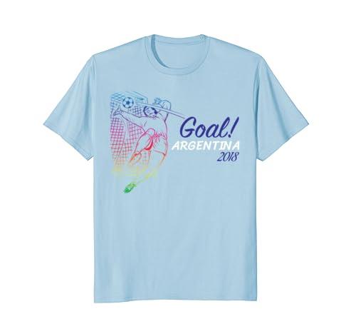 Amazon.com: Camiseta De Argentina 2018 Soccer Futbol Playera Camisa: Clothing