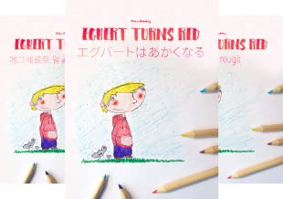 """Bilingual Picture Book Series: """"Egbert Turns Red"""" Dual Language with English as Main Language (50 Book Series)"""