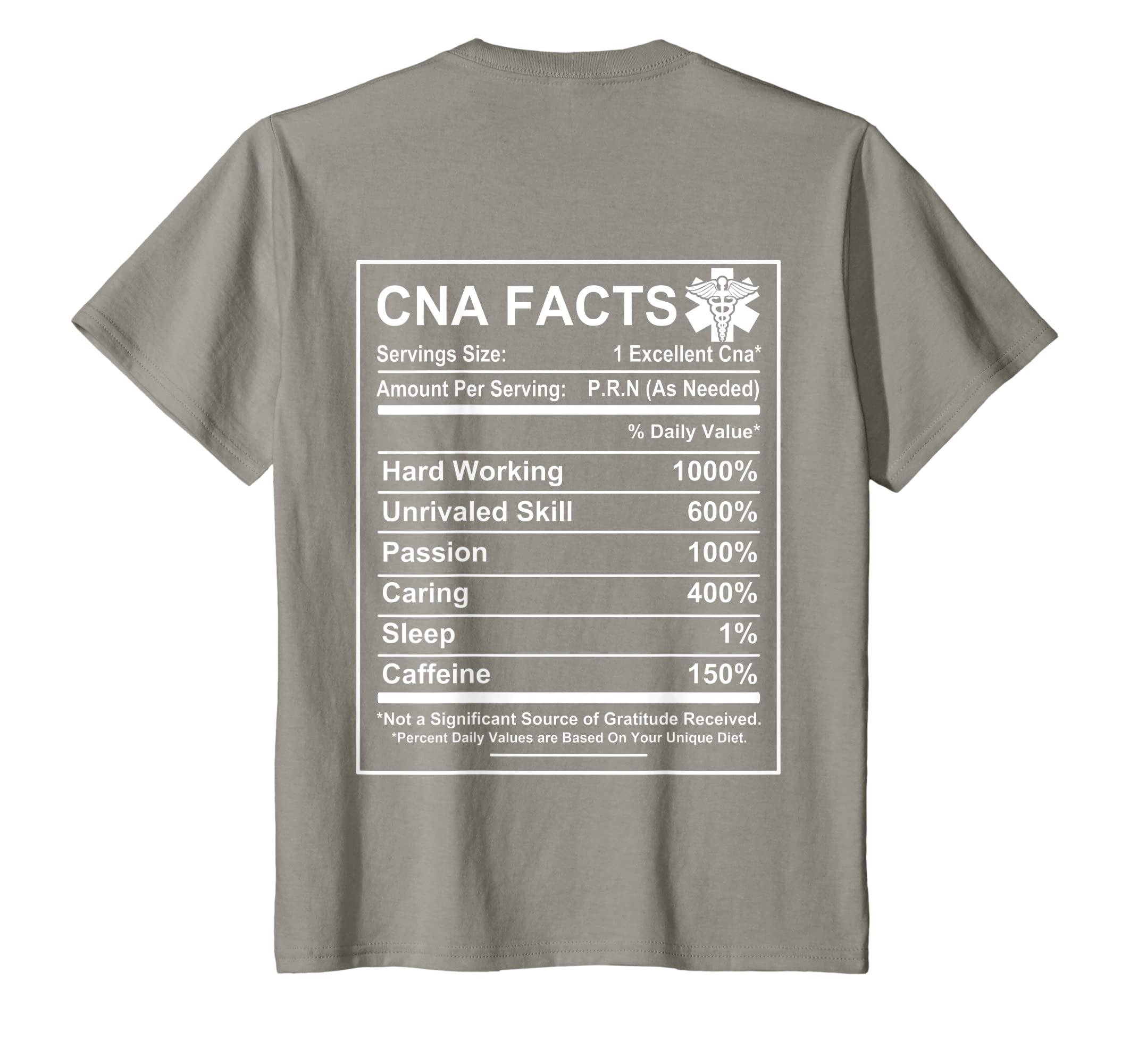 96e48f07d Amazon.com: CNA Facts - Funny CNA saying T-shirt - CNA gifts: Clothing