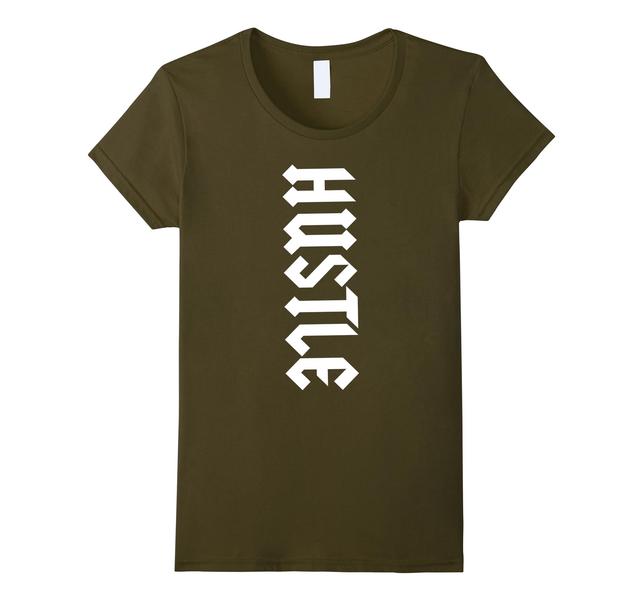 Motivational Graphic Hustle Shirt Hustlers-Samdetee