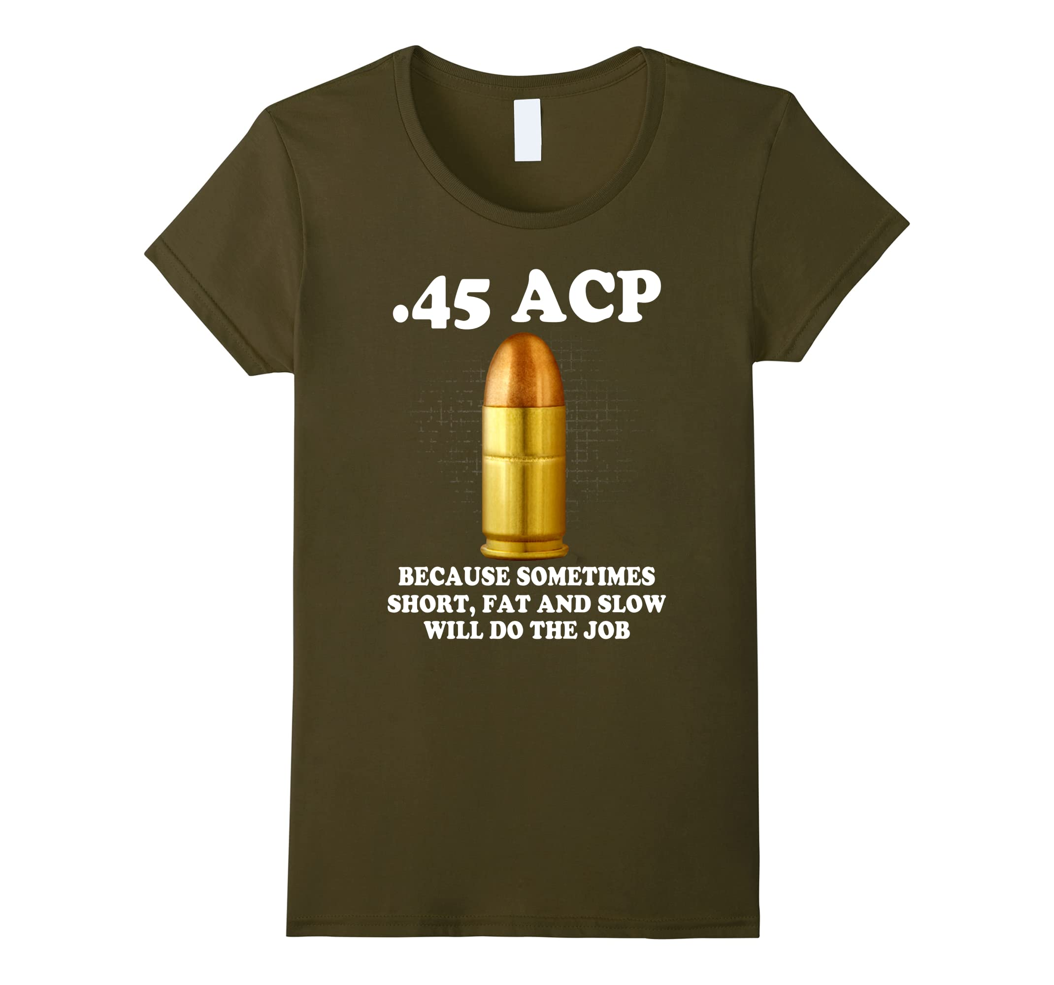 45 ACP Because Sometimes Short, Fat And Slow Will Do The Job
