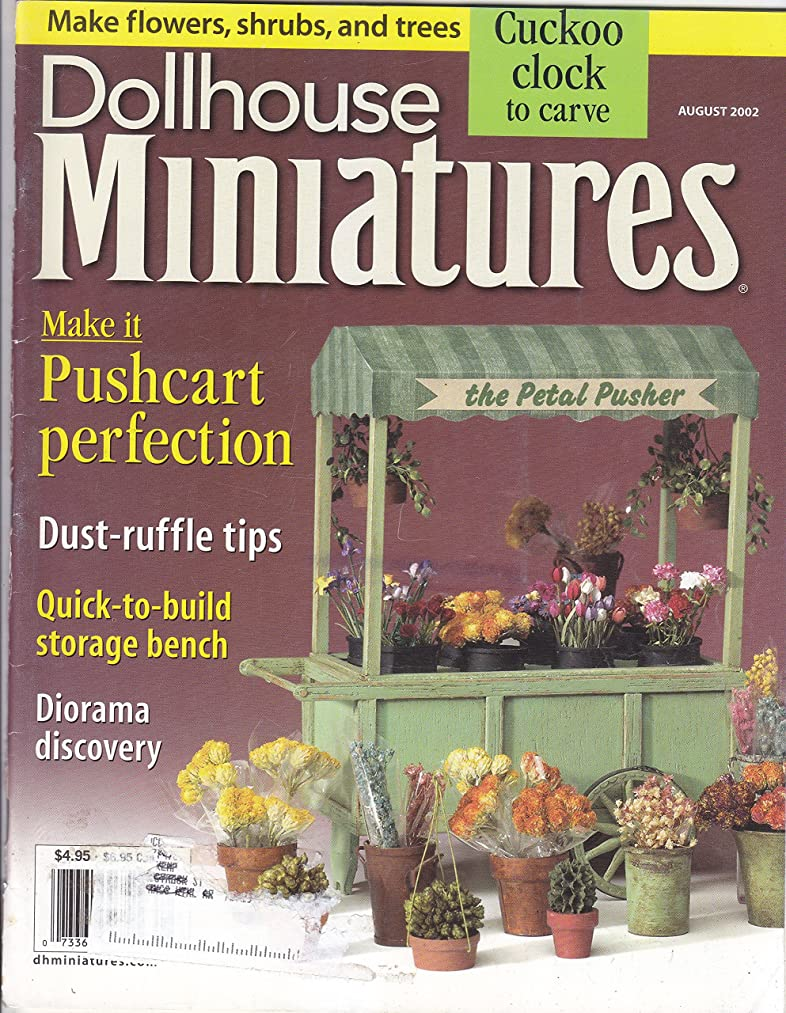 Dollhouse Miniatures August 2002 Volume 32 No 8