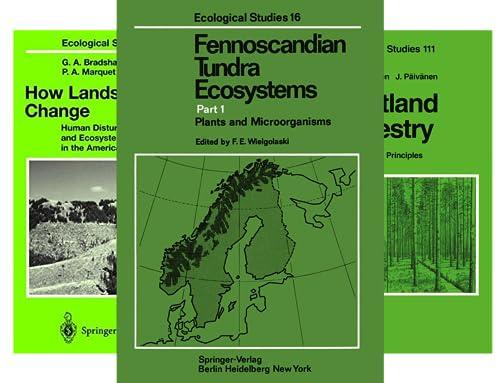 Ecological Studies (51-88) (38 Book Series)