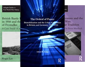 Routledge Studies in First World War History (33 Book Series)