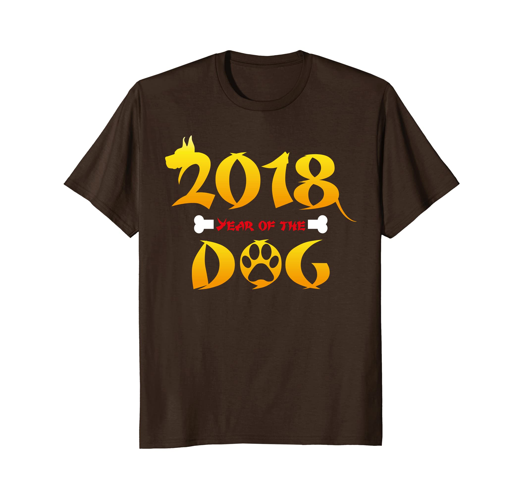 2018 Chinese New Year of the Dog T-Shirt - Zodiac Sign-TH