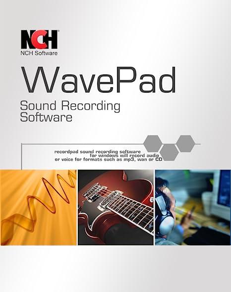 WavePAD免费音频编辑器 - 使用音频编辑工具和效果创建音乐和声音曲目[下载]