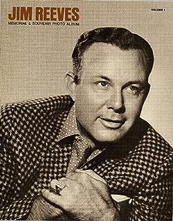 Jim Reeves Memorial & Souvenir Photo Album (RCA-Victor Country Music Artist / Singer, Volume 1)