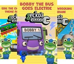 Big Truck Fun at Gecko's Garage (10 Book Series)