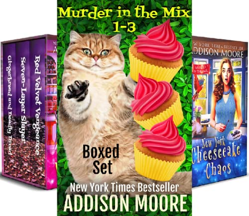 Murder in the Mix Boxed Set Book (10 Book Series)