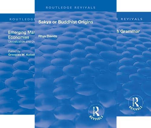 Routledge Revivals (101-150) (50 Book Series)