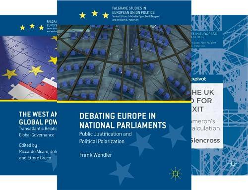 Palgrave Studies in European Union Politics (51-90) (40 Book Series)