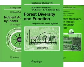 Ecological Studies (50 Book Series)