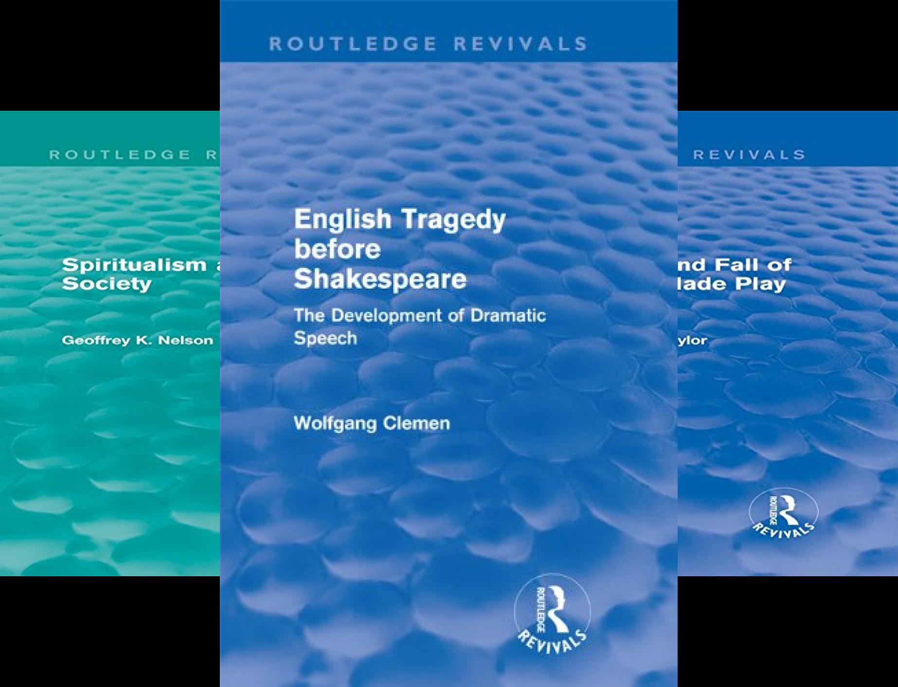 Routledge Revivals (20 Book Series)