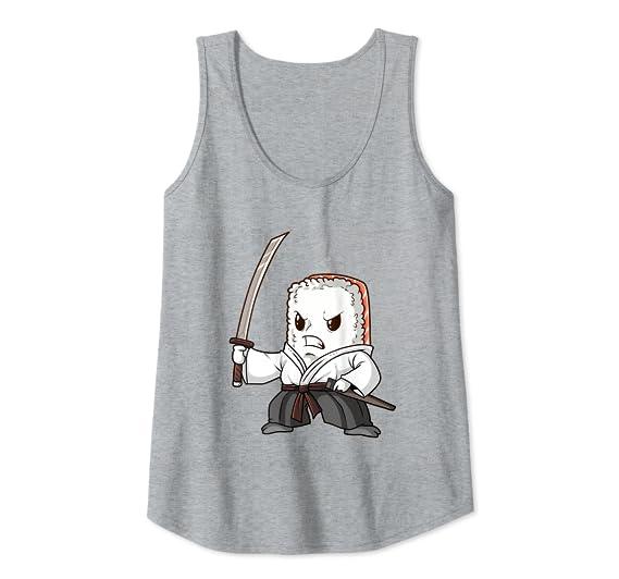 Amazon.com: Sushi Ninja Camiseta de regalo japonesa Sashimi ...