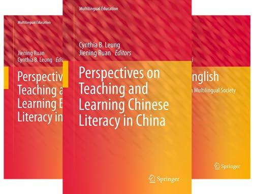 Multilingual Education (38 Book Series)