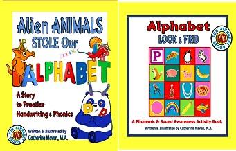 Fun Alphabet Books (2 Book Series)