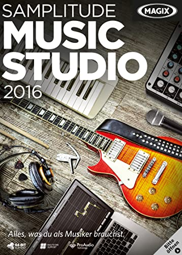 MAGIX Samplitude Music Studio 2016 [Download]