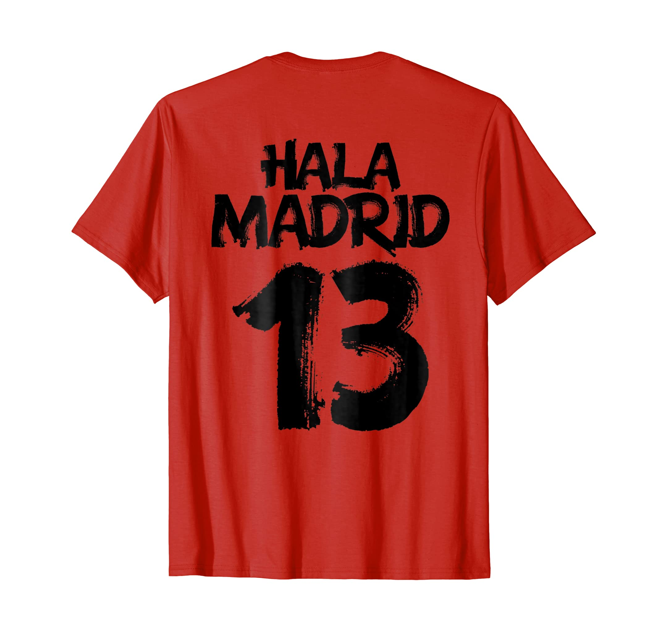 Amazon.com: La Decimotercera t-shirt men women kids Hala Madrid 2018: Clothing