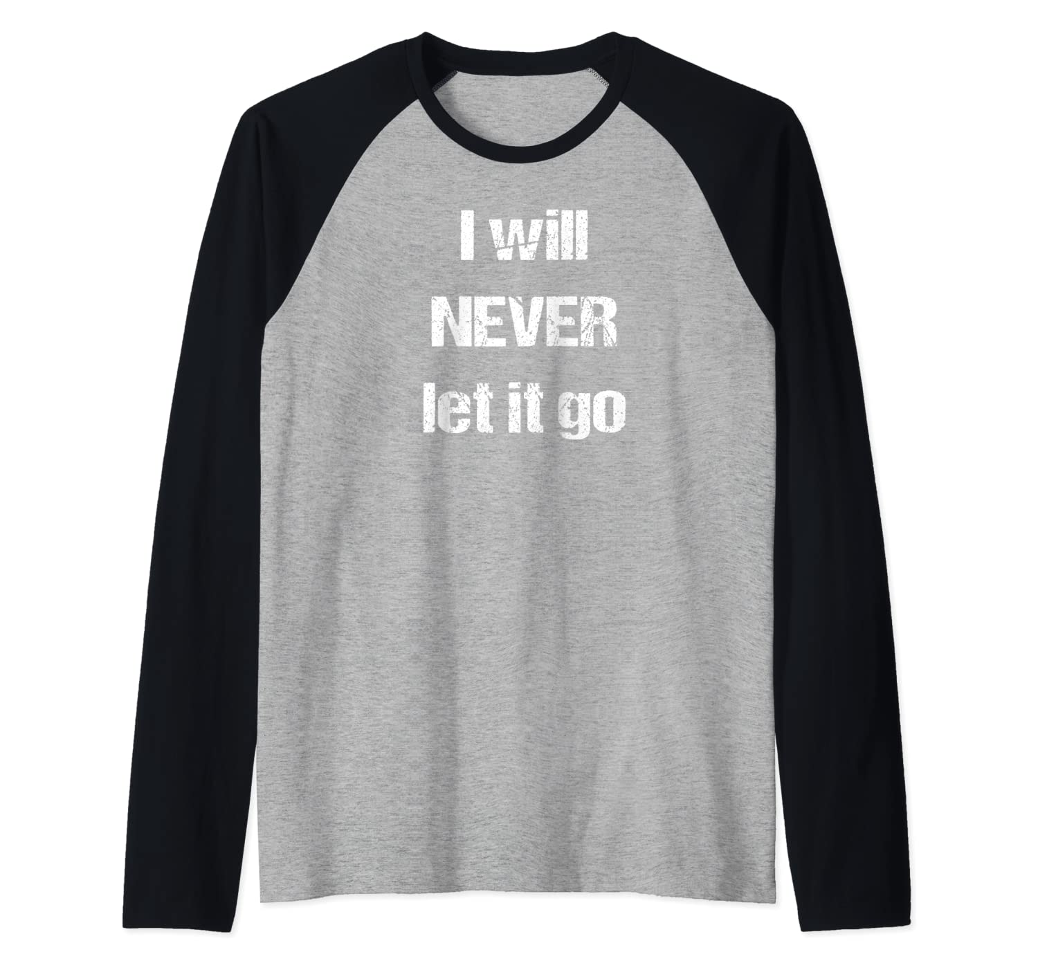Will Never Let T Go Baseball Shirts
