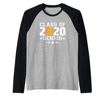 Amazon.com: Class of 2020 - Camiseta de béisbol Raglan para ...