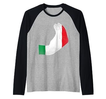 Amazon.com: Italiano Hand Gesture – Monedero de mano Raglan ...