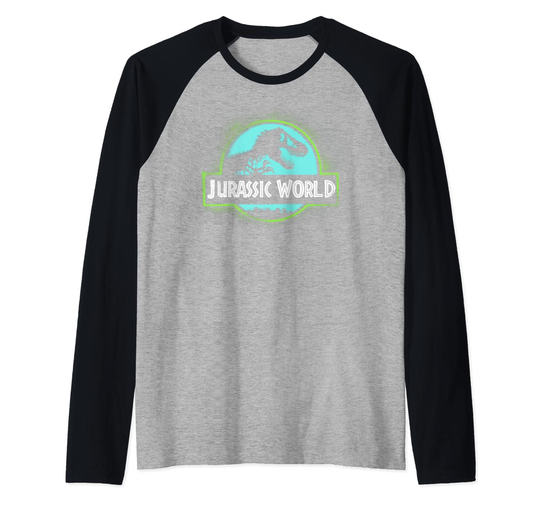 Jurassic World 2 Grafi Spray Classic Logo Baseball Shirts