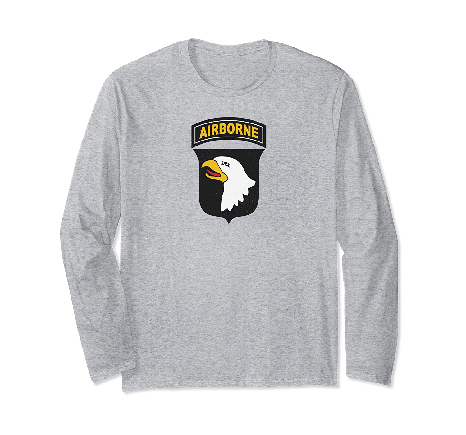101st Airborne Division Vintage Army Fort Campbell Veteran Long Sleeve T-Shirt
