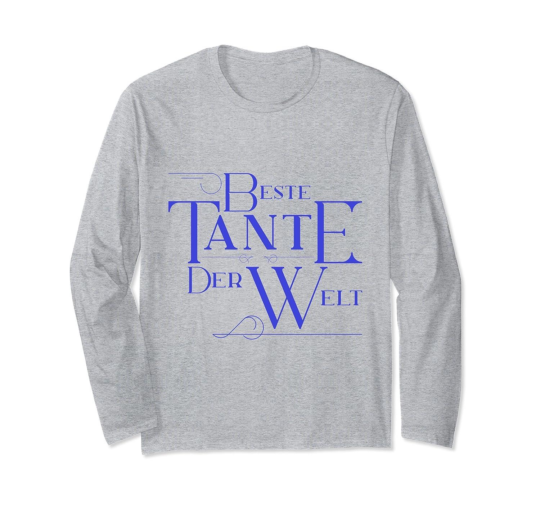 Amazoncom Beste Tante Der Welt T Shirt Tante Geschenk T