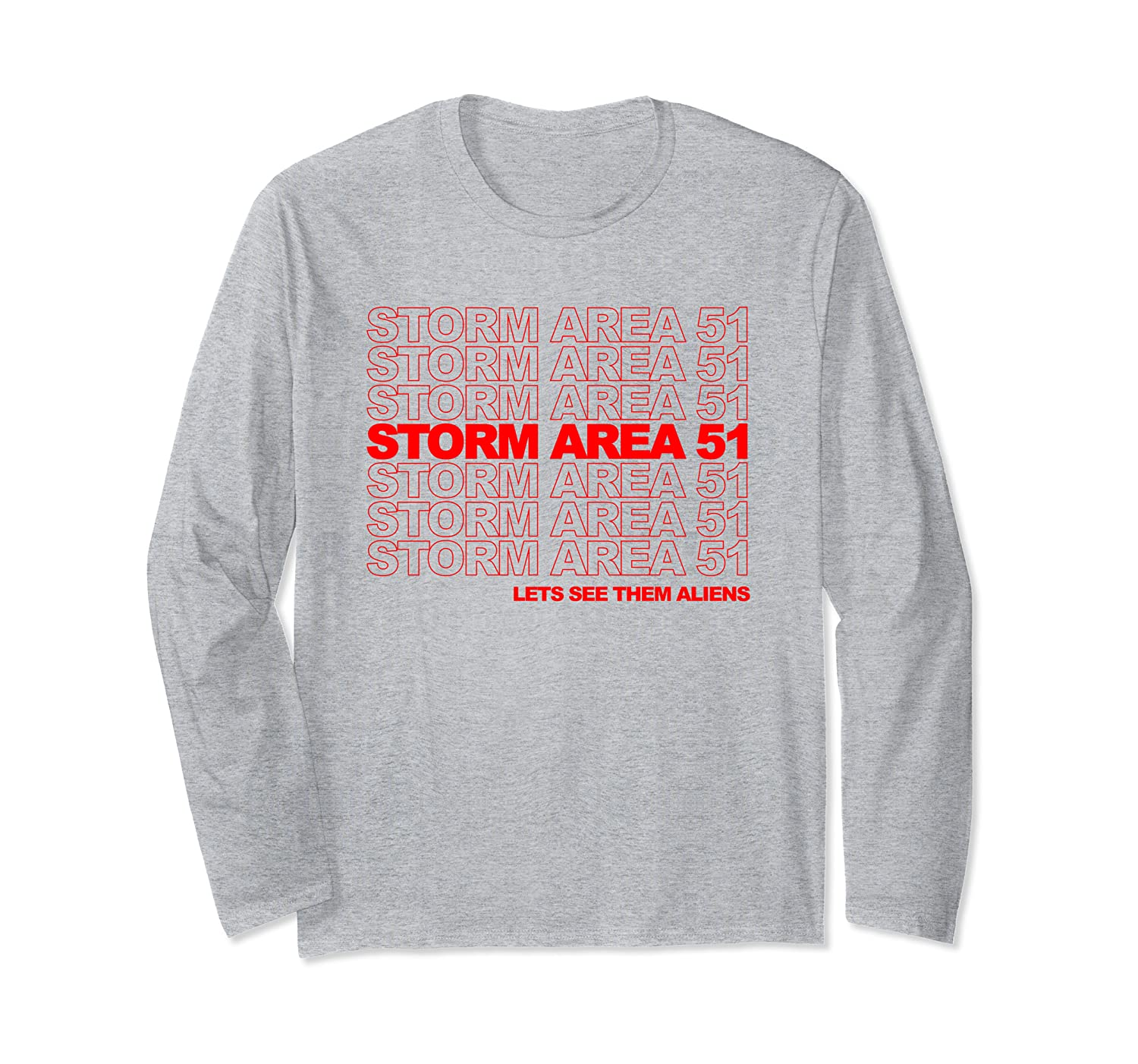Storm Area 51 Alien Parody Shirts