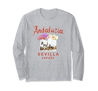 Amazon.com: SPAIN Seville Sevilla ESPANA Andalusia Graphic ...