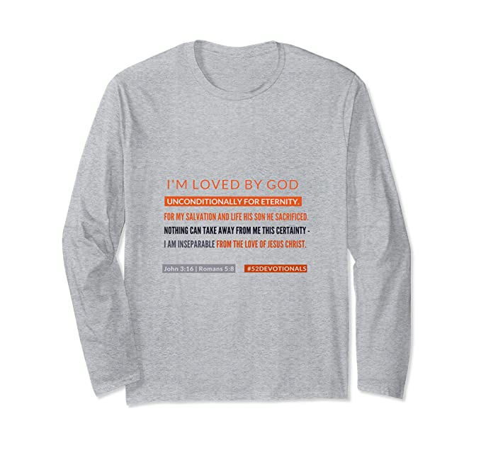 I am Loved by God Christian Apparel for Women addicted to Sex by Anna Szabo #52Devotionals