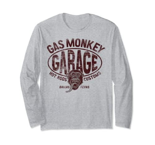 Gas Monkey Garage Hot Rods And Customs Classic Long Sleeve T Shirt